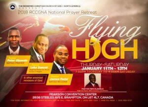 RCCG Canada Prayer Retreat 2018 @ Pearson Convention Center | Brampton | Ontario | Canada