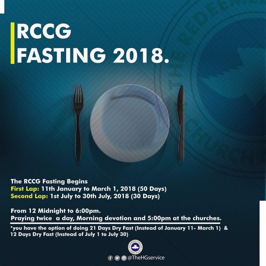 RCCG Fasting 2018 - Second Lap @ Redemption Camp | Greenville | Texas | United States