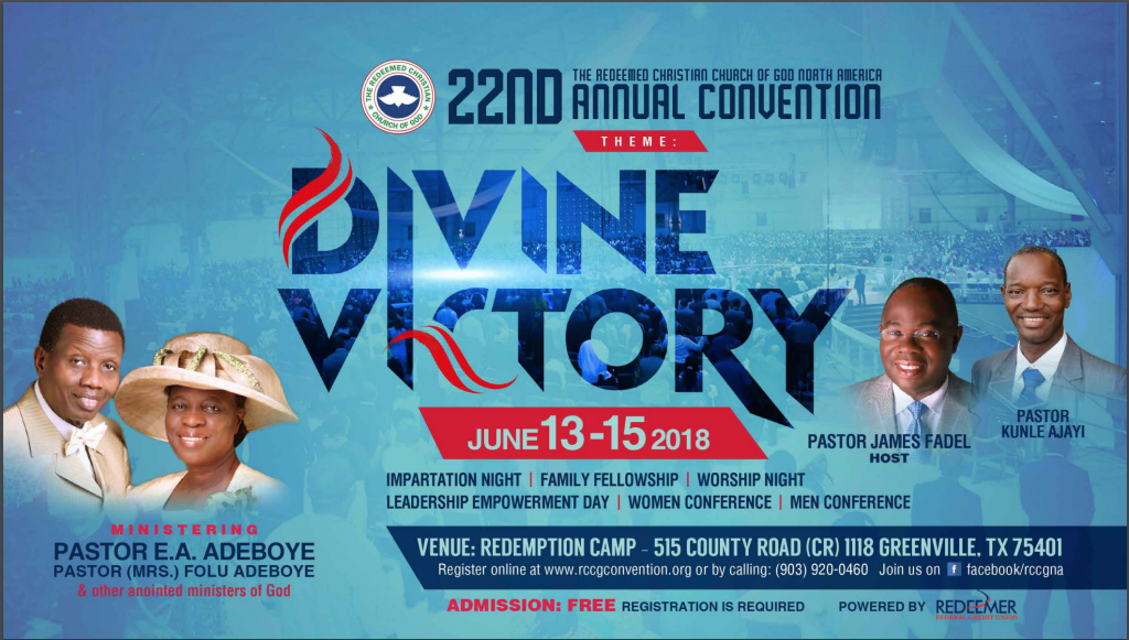 RCCG, North America Convention @ Redemption Camp | Greenville | Texas | United States